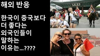 (해외 반응) 한국의 시민의식 수준이 중국보다 더 높다....???