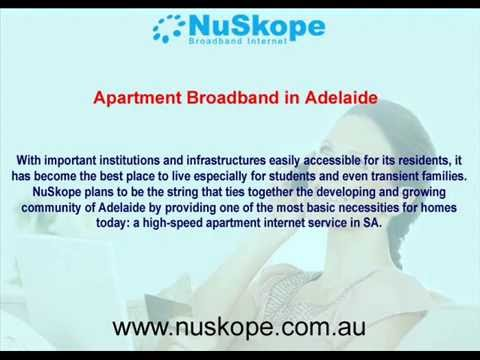 Apartment Broadband in Adelaide