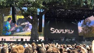 Soulfly Feat. Igor Cavalera - Symptom of the Universe/Roots Bloody Roots - Hyde Park, London 4/7/14