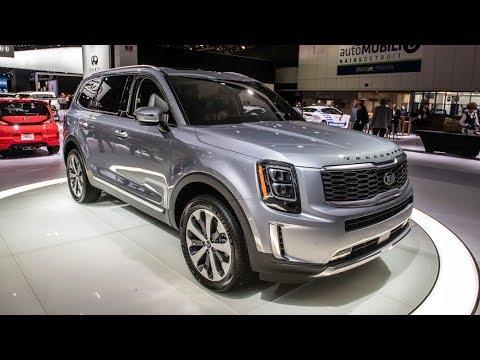 💥2020 KIA TELLURIDE - New Three-Row SUV With Bold Design !!