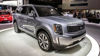 2020 KIA TELLURIDE - New Three-Row SUV With Bold Design !!