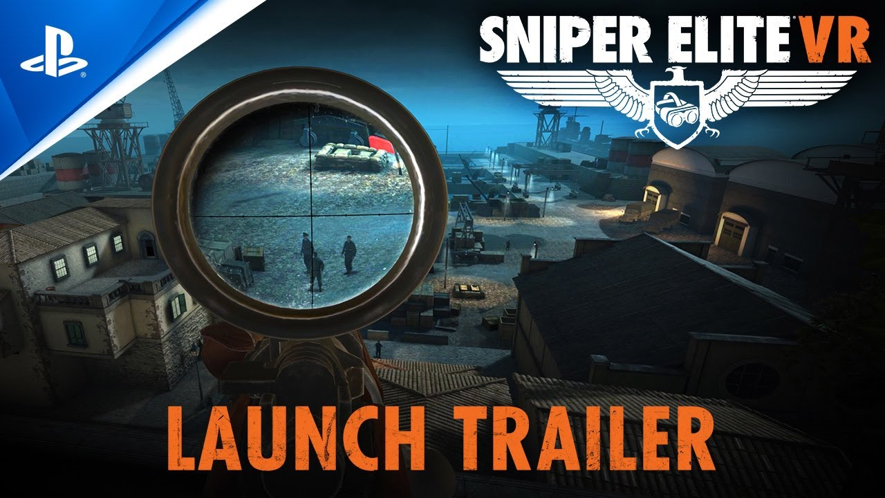 Sniper Elite VR Launch trailer - PlayStation VR
