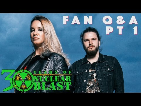 THE CHARM THE FURY - Part 1: FAN Q&A with Caroline Westendorp + Mathijs Tieken (OFFICIAL INTERVIEW)