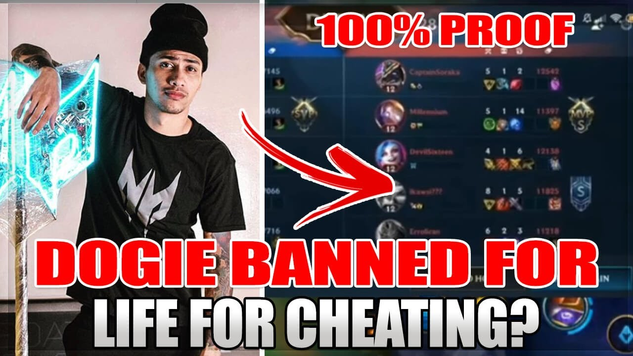 AKOSI DOGIE EXPOSED AND BANNED FROM LEAGUE OF LEGENDS WILD RIFT (THE FACE OF MOBILE LEGENDS)