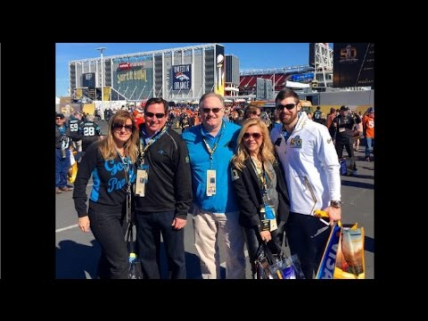 At The Super Bowl  'Blind Side' Family Cheers On Michael Oher