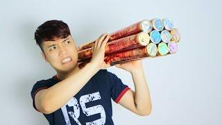 NTN - Bắn 10 Quả Pháo Giấy Chúc Mừng Năm Mới (Celebrating new year with 10 paper firework)