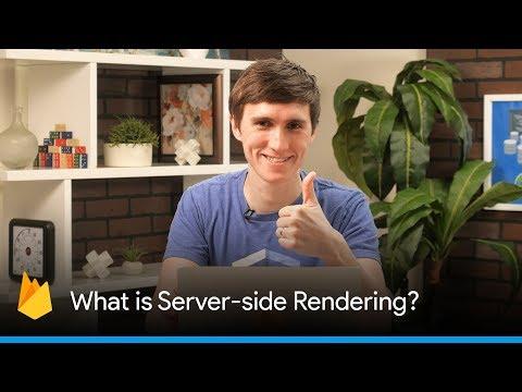 What is Server-Side Rendering? (Server-side Rendering with JavaScript Frameworks)