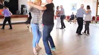 Kellie Maloney dancing with Eddie McGuinness at 'The Outing' 2015