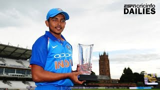 Dailies: Seventeen-year-old Shaw slots in behind Tendulkar