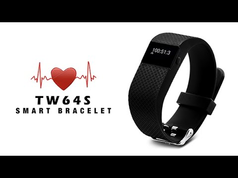 Tw64s Colorful Smart Bracelet With Display Call Pedometer Mileage