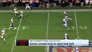 NFL Top 10 Trick Plays of all time