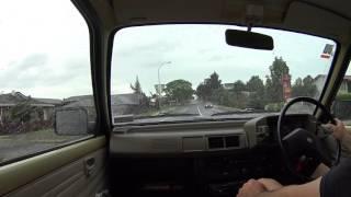 Short Drive in a Subaru Rex