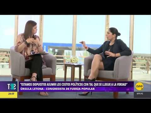 Todo Se Sabe│Úrsula Letona confiesa ofrecimiento de 2 millones de Odebrecht a Keiko