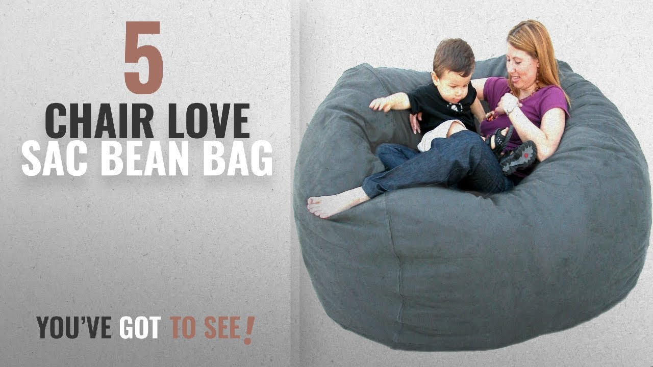 Love Sac Bean Bag Chair Top 10 Chair Love Sac Bean Bag 2018 Cozy Sack 5 Feet Bean Bag Chair Large Grey