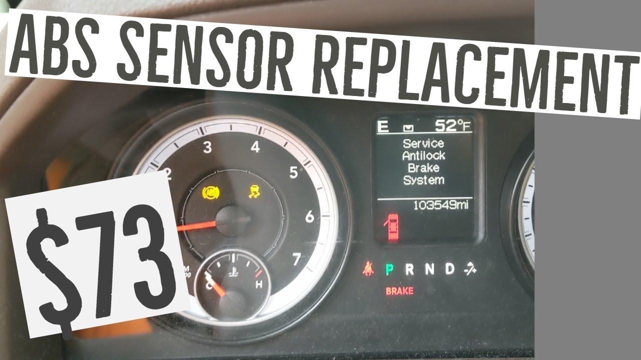Ram 1500 Abs Sensor Repair Cheap Fix Product Link In Description Youtube