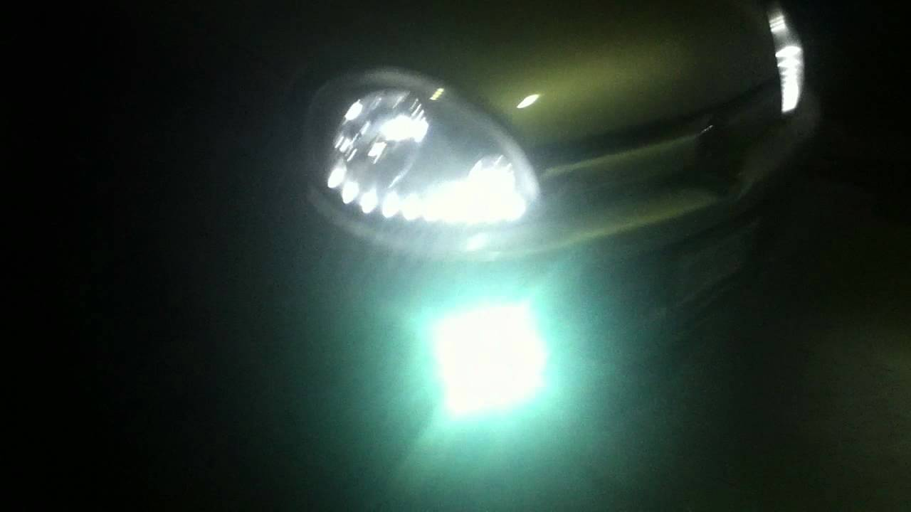 chevy con xenon y leds - YouTube
