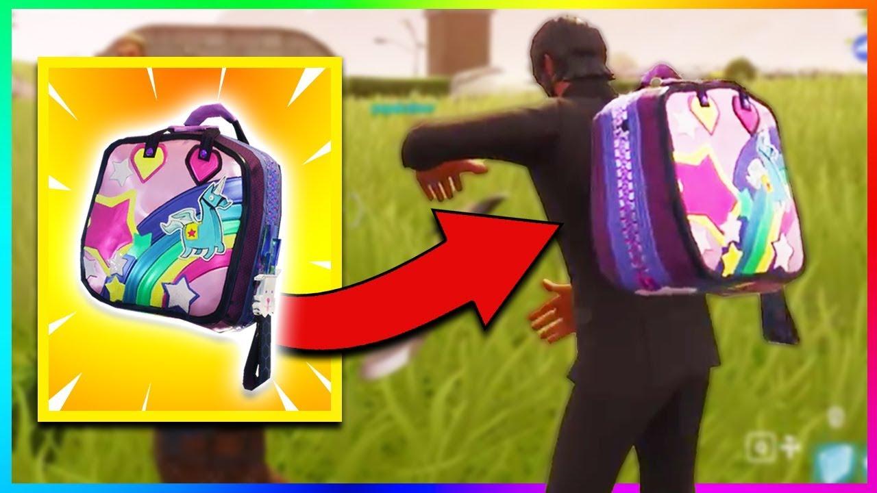 new brite bag gameplay in fortnite download secret backpack fortnite battle royale - fortnite unicorn backpack season 5