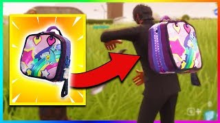 "NEW ""BRITE BAG"" GAMEPLAY IN FORTNITE! Download Secret Backpack! (Fortnite Battle Royale)"