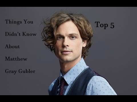 Top 5 | Things You Didn't Know About Matthew Gray Gubler