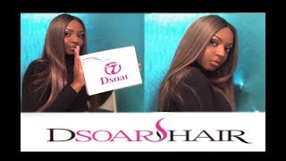 Dsoar Hair initial review ! Wrong hair color gone right