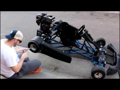 New Go Kart HAULER - Matt's New Truck! - Uninstalling the Drifting Slicks