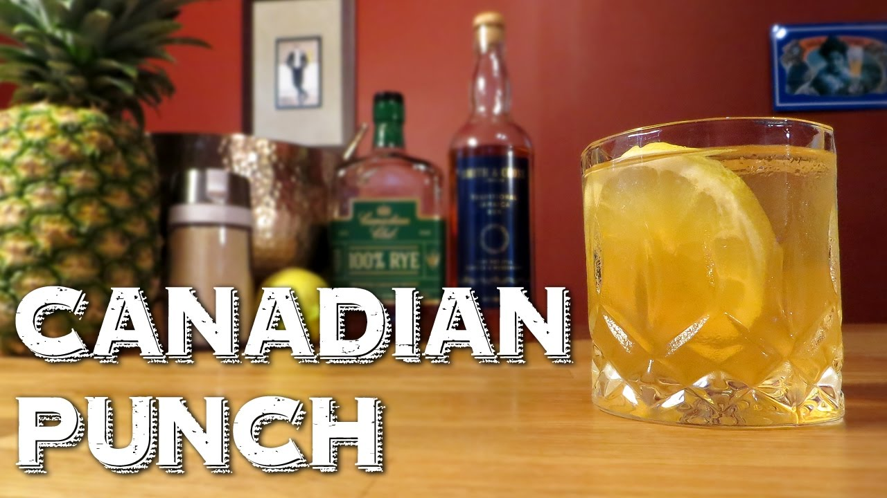 canadian punch - how to make an awesome party drink with rye