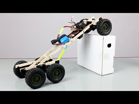 How to make 6x6 full adjustable truck