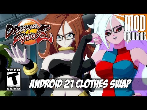 【DBFZ MOD】 ANDROID 21 CLOTHES SWAP [PC - HD]