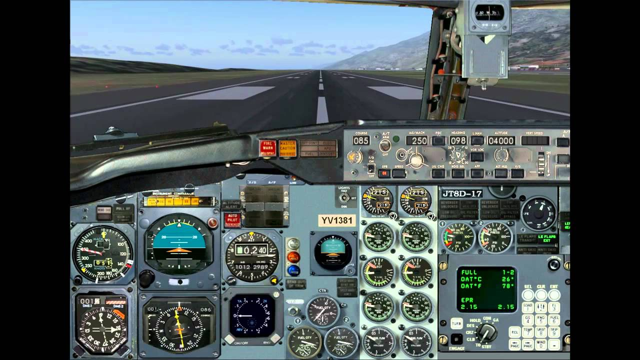 Rutaca 737-200 takeoff - FS2004