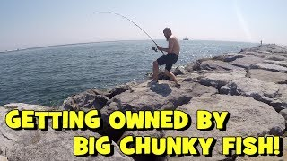 Anglers Getting OWNED by BIG CHUNKY FISH!!! BONUS FOOTAGE -- #3