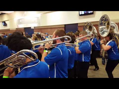 2017 University Of Kentucky Wildcat Marching Band Pep Band Rupp Arena Pregame