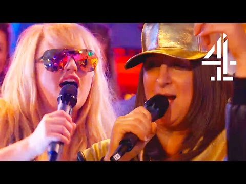 Rebel Wilson Raps and Tries on X Factor