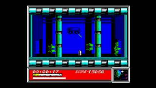 Dan Dare (1986) 128k AY music version Walkthrough + Review, ZX Spectrum