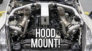 MY TWIN TURBO 370Z BURNOUT CAR! (Secret Project)
