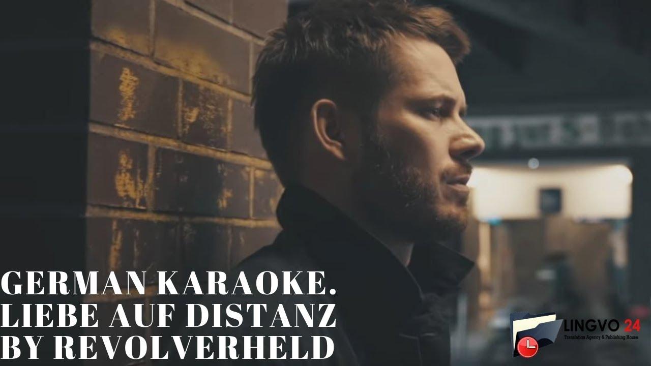 German Karaoke. Liebe auf Distanz by Revolverheld - YouTube