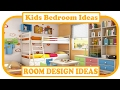 Kids Bedroom Ideas - Small Bedroom Design Ideas For Your Kids