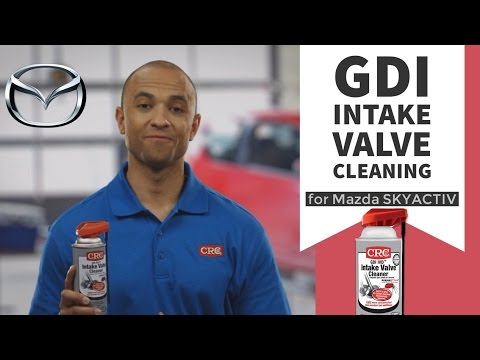 Intake Valve Cleaning Mazda CRC GDI IVD® Intake Valve & Turbo Cleaner