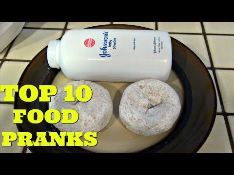 TOP 10 HUSBAND VS WIFE GENIUS FOOD PRANKS - Pranksters In Love