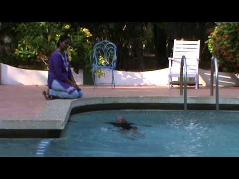 Rini Ravindran - Swimming @ Hotel Tamilnadu, East Coast Road, Beach Resort Complex: Mamallapuram