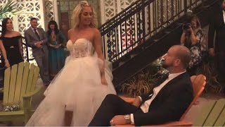 Bride Shocks Guests With Unique First Dance Routine at Wedding