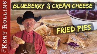 Blueberry and Cream Cheese Fried Pies and Turnover Recipe