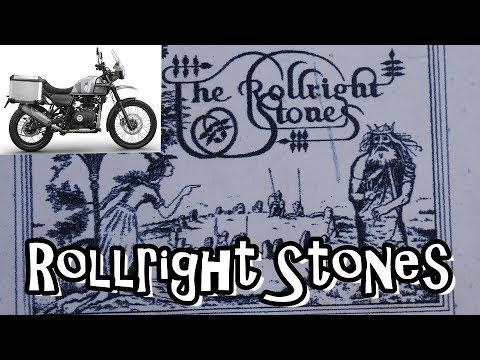 Wiltshire Man The Rollright Stones Royal Enfield Himalayan Adventure