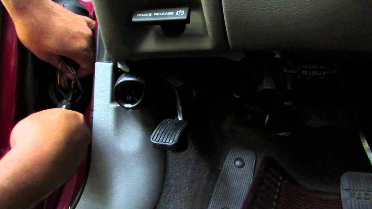 Ghia Wiring Diagram Ford Taurus Window Problem Youtube