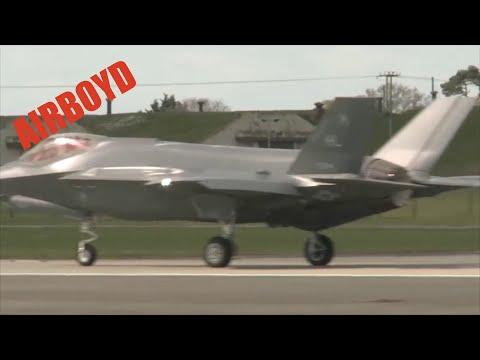 The F-35A Deploys To Lakenheath