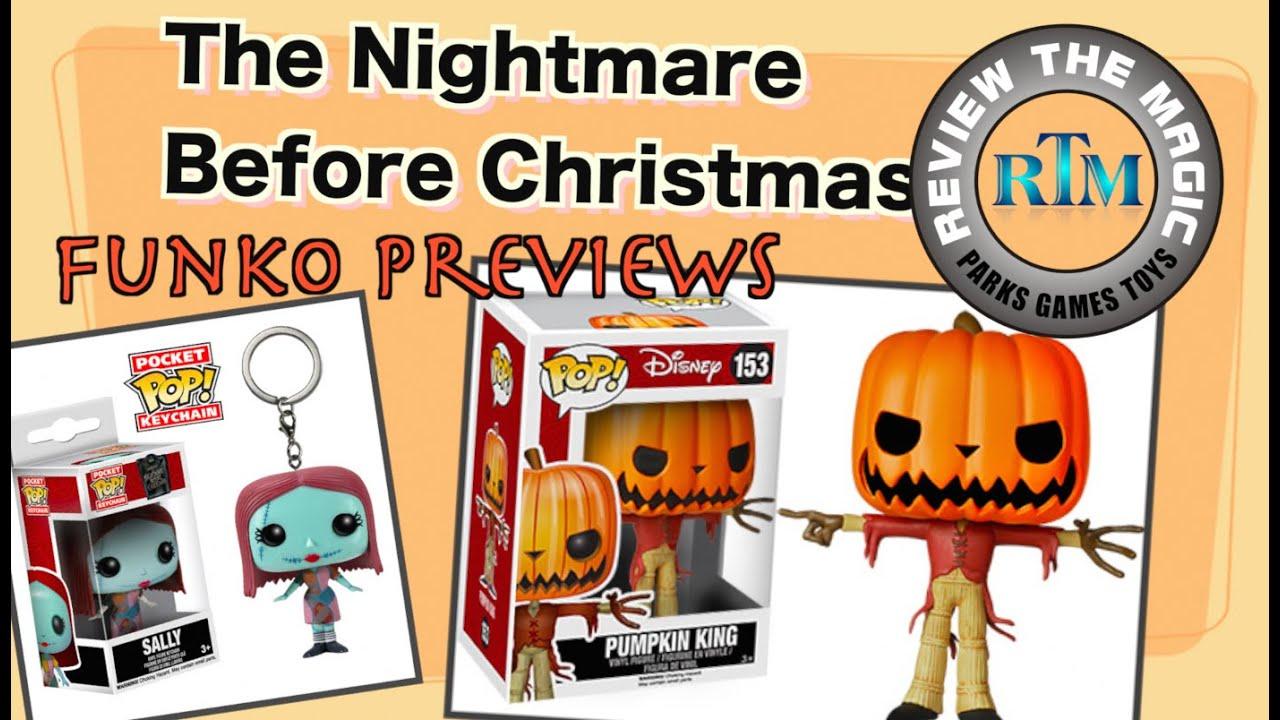 The Nightmare Before Christmas FUNKO POP! Mopeez Pocket POP ...