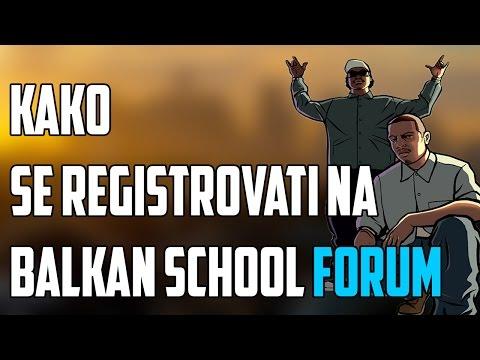 Kako se registrovati na Balkan School Forum