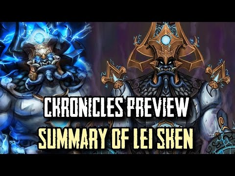 Warcraft Chronicle Preview: The Summarized History of Lei Shen and Zulathra