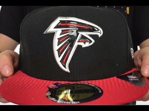 Falcons  2015 NFL DRAFT  Black-Red Fitted Hat by New Era - YouTube 6407976f3b3
