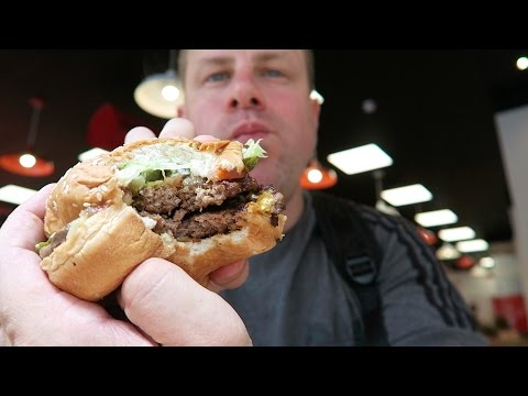Five Guys Burgers And Fries + Drink Machine Review Best In London UK ?
