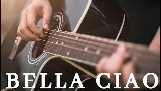 Bella Ciao - Easy Guitar Lesson - La Casa de Papel - Guitarra
